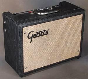 Gretsch 6150t  U0026quot Compact Tremolo U0026quot  Vintage Amp