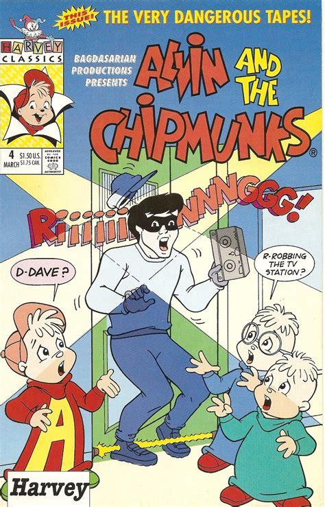 alvin   chipmunks harvey comic  issue