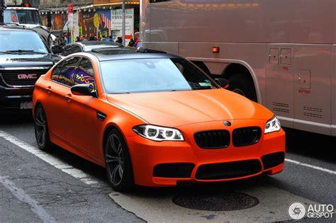 matte fire orange bmw lci  spotted   york