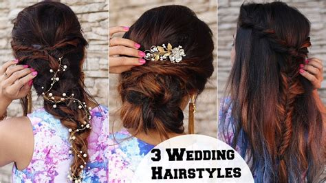3 Elegant Wedding & Cocktail Party Hairstyles / Hairstyles