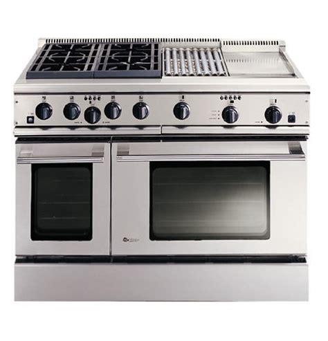 zdpngwss ge monogram  professional range   burners grill  griddle natural