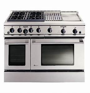 Ge Monogram U00ae 48 U0026quot  Professional Range With 4 Burners  Grill