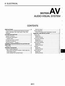 Nissan Navara Workshop Manual