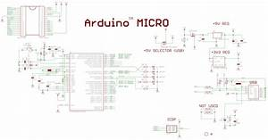 Usb - Questions About The Arduino Micro Pcb