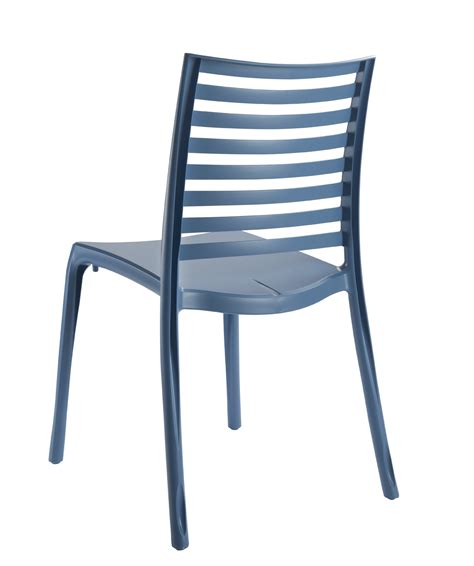 chaise de jardin bleu chaise de jardin sunday grosfillex