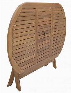 Table De Jardin Ovale : table de jardin ovale en bois d 39 acacia magasin en ligne ~ Dailycaller-alerts.com Idées de Décoration