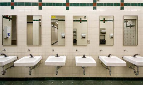 scientists claim unisex toilets  cut queuing time
