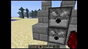 How To Make A Minecraft Machine Gun - YouTube