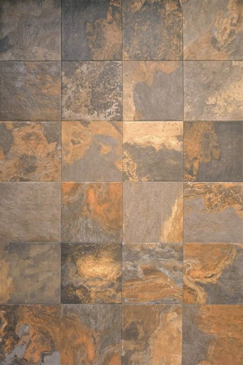 Interceramic Slate Supremo Multicolor Tile Flooring 16 x 24