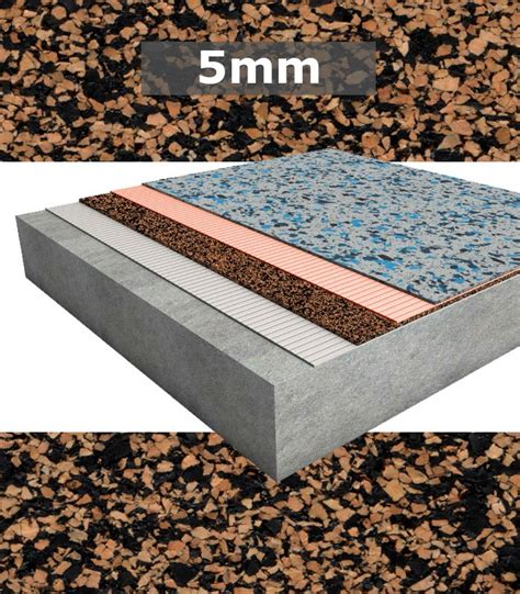 Floating Floor Underlayment Thickness by Regupol Acoustic Underlay K225 5mm For Rubber Floors