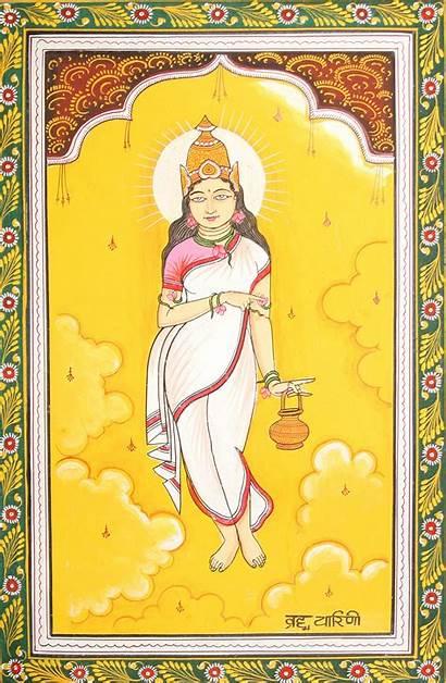 Durga Forms Goddess Nine Navadurga Brahmacharini Mata