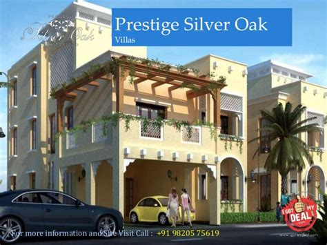 silver oak prices prestige silver oak villas at whitefield bangalore price review