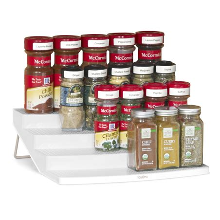 Youcopia Spice Rack by Organize Your Kitchen Cabinets With The Youcopia 24 Bottle