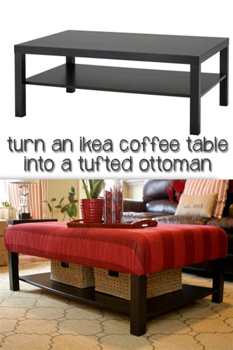 What do you get with you take an ikea lack coffee table and add wood that was cut at home depot… a bit of stain and nails? Lack Hack   Ikea lack coffee table, Home, Home decor