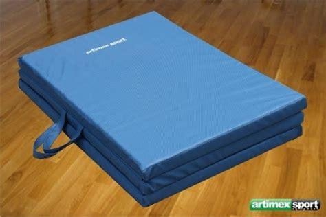 tapis de gymnastique pliable 200x100 cm haute densit 233 ref