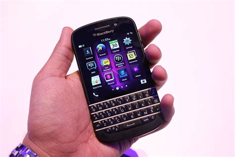 the blackberry q10 is a curious blend of and new techcrunch