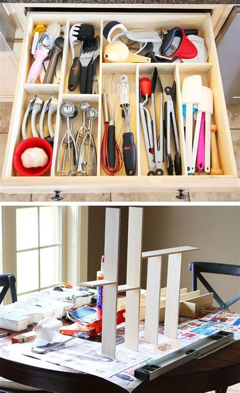 kitchen drawer organizer diy 28 genius kitchen organizations ideas on a budget 4720
