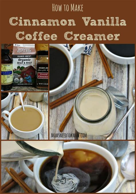 You control all of the ingredients so you can tailor it specifically to your taste preference. Homemade Cinnamon Vanilla Coffee Creamer | Moms Need To Know