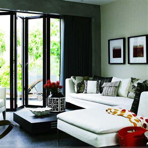 Monochrome House With Secrete Utility Room by Monochrome Living Room Housetohome Co Uk