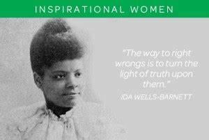 Ida B Wells Fam... Lincoln Barnett Quotes