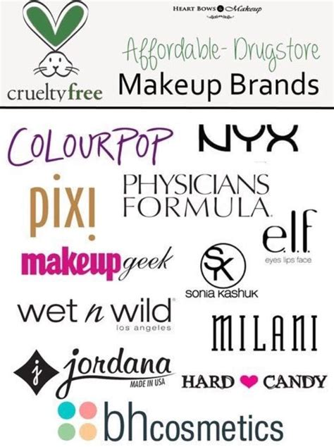 Drugstore Makeup Brands That Don't Test On Animals