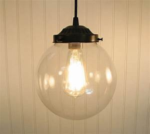 Biddeford glass pendant light large by lampgoods on etsy