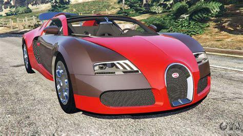 Roubar o bugatti veyron pode fazer você ficar rico no gta 5. Bugatti Veyron Grand Sport for GTA 5
