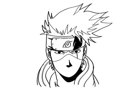 draw kakashi  naruto flickr photo sharing
