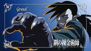 #Fullmetal Alchemist: Brotherhood, #Greed, #homunculus ...