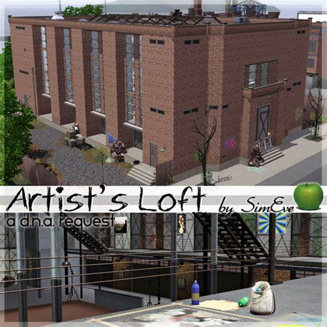 sims 3 loft bauen my sims 3 artist s loft by simeve