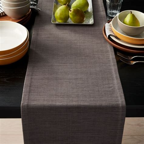 grasscloth  graphite grey table runner reviews