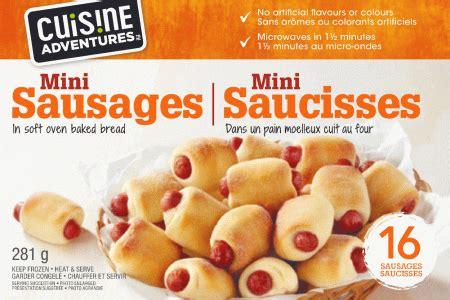 mini sausages costco retail ca cuisine adventures