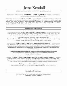 insurance resume examples insurance underwriter resume With claims adjuster for dummies