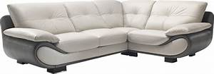 Canap D39angle Cuir Nelia Canap D39angle Pas Cher Mobilier