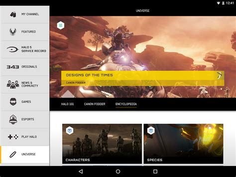 halo channel android apps on play