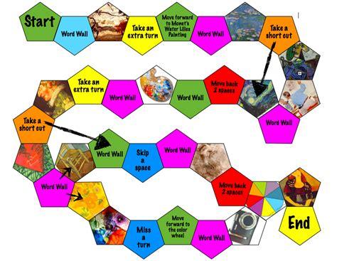 Trivia Game Board Template by Board Game Template Cyberuse