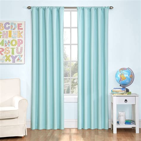 Eclipse Ridley Room Darkening Curtain by 63 Inch Curtains Curtains For Bedroom 63 Inches