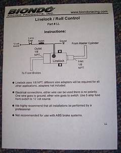33 Line Lock Wiring Diagram