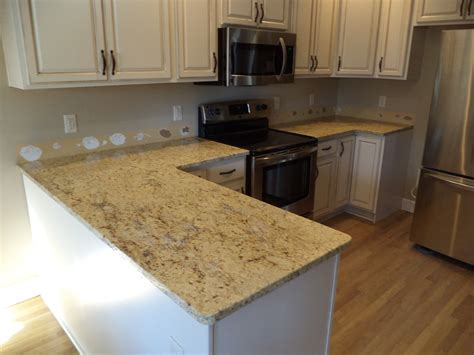 granite america colonial white cabinets granite