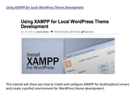 theme development tutorials  wordpress