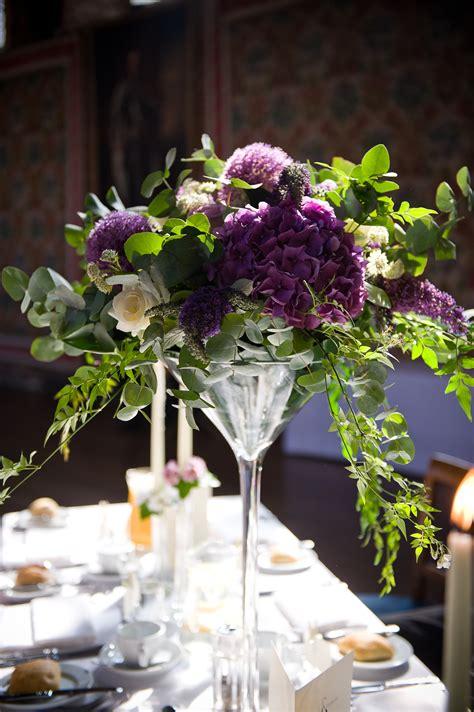 Martini Glass Table Decoration Your London Florist Weddings