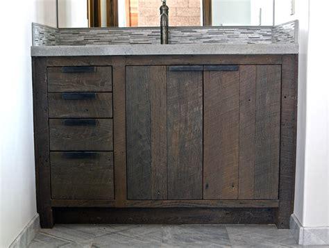black vanity bathroom 30 exles of the reclaimed wood vanity