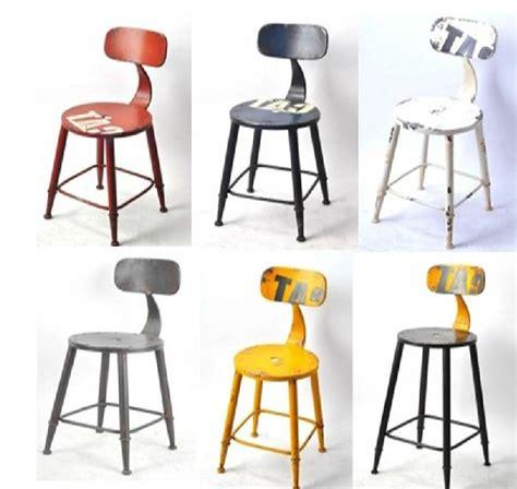 the new american retro bar stool chair creative cafe