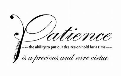 Quotes Virtues Patience Quotesgram