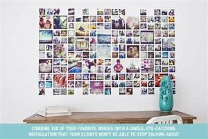 Foto Auf Magnetwand : instagram collage template for photoshop indesign design aglow ~ Sanjose-hotels-ca.com Haus und Dekorationen