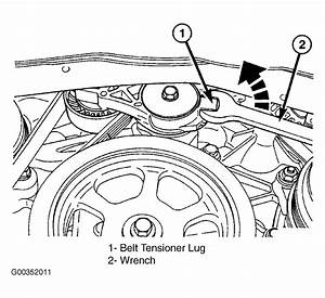 2004 Chrysler Pacifica Serpentine Belt Routing And Timing