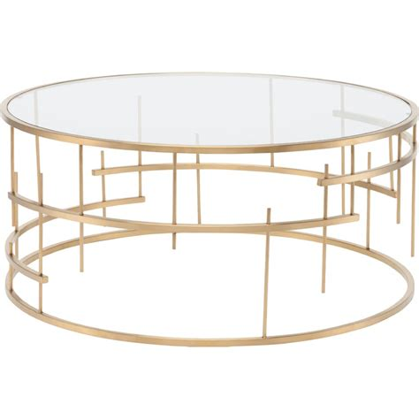 The nesting metal profiles are a home decorators collection cheval gold metal nesting coffee tables with marble top set of two the tables come in a large box that weights over. Round Glass Coffee Table Gold   Coffee Table Design Ideas