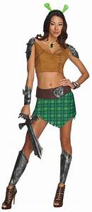 Shrek Forever After Fiona Warrior Costume Rubies