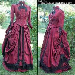 Red Victorian Dresses