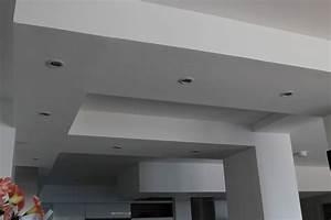 Faux Plafond Autoportant : realisation faux plafond maison travaux ~ Nature-et-papiers.com Idées de Décoration